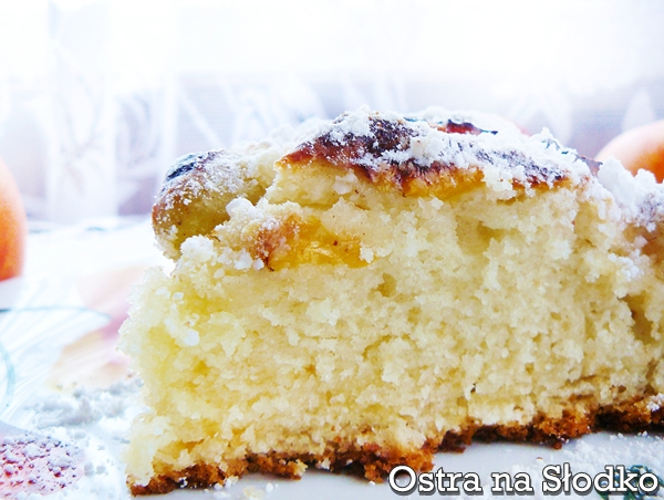 ciasto ucierane , ucierane z owocami , ucierane na kefirze , ucierane na maslance , latwe ciasto , tanie ciasto , ostra na slodko