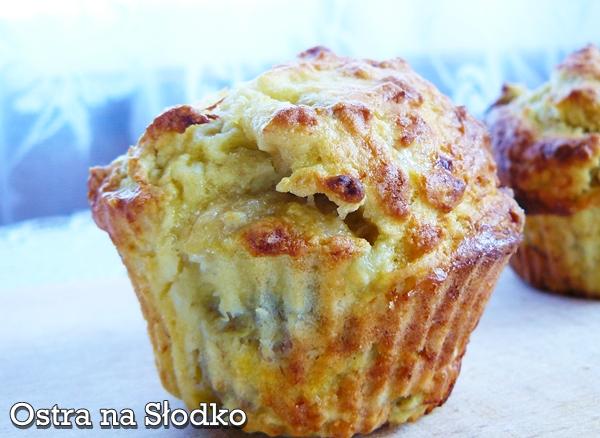 muffinki bananowe , bananowe muffiny , muffinki z bananami , cupcake , ostra na slodko xxxxxxxx