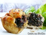muffinki miesne , filet z pieczarkami , kotlet z grzybami , piers z pieczarkami , piers z grzybami , ostra na slodko , filet z farszem-001