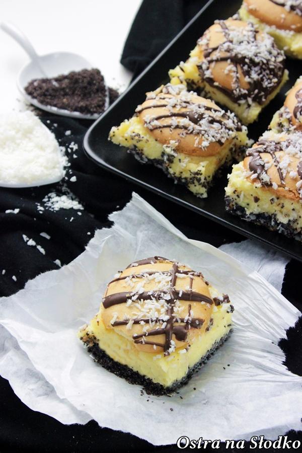pijak , ciasto bijak , krem do ciasta , ciasto z biszkoptami , biszkopt makowy , pyszne ciasta , ostra na slodko , , latwe przepisy , blog kulinarny 2x