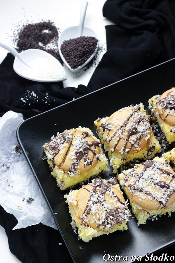 pijak , ciasto bijak , krem do ciasta , ciasto z biszkoptami , biszkopt makowy , pyszne ciasta , ostra na slodko , , latwe przepisy , blog kulinarny 6x