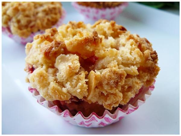 muffinki z truskawkami 2x