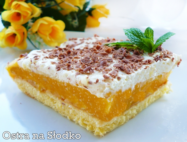 brzoskwiniowiec , ciasto z brzoskwiniami  , brzoskiwniowe , latwe ciasto tanie ciasto , ciasto z pianka , ostra na slodko , xxxxxxxxx