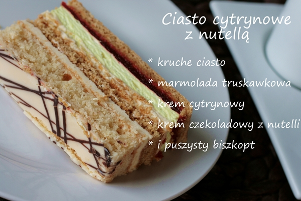 ciasto cytrynowe , ciasto przekladane , cytrynoweic , ciasto z marmalolada , pyszne ciasta , ostra na slodko , fajny blog , kulinarny
