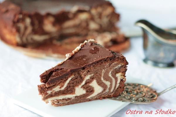 sernik czekoladowy zebra czekolada mleczna ser wiaderkowy ser mielony xxxx