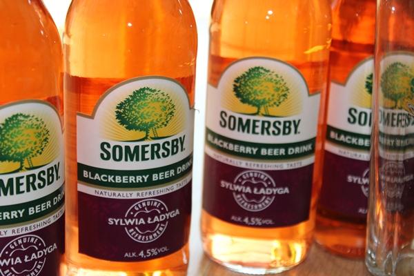somersby Blackberry Beer Drink , ostra na slodko 2 xxx