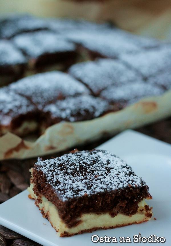 sernik kakaowy , serowe , ciasto kakaowe , ciasto poduszeczki , laciate , ostra na slodko 3xxxx