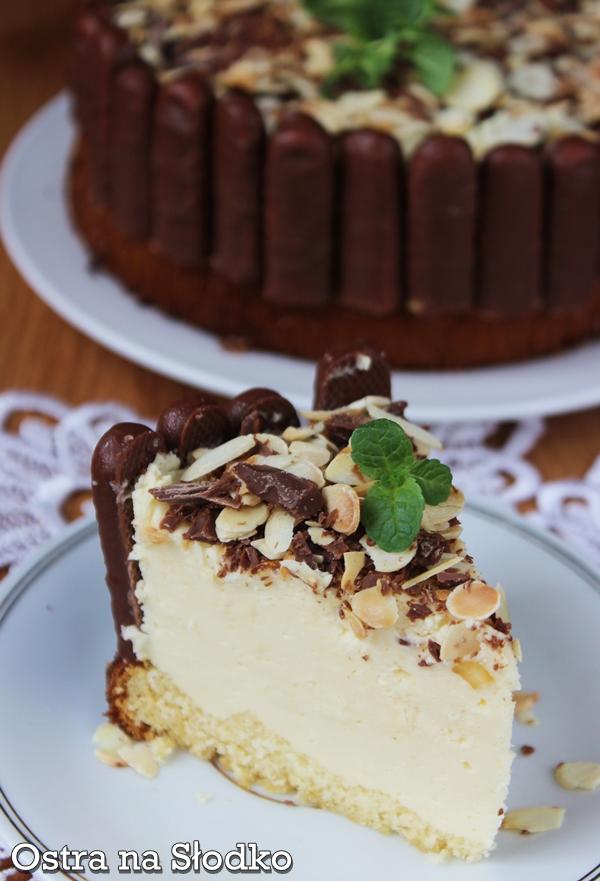 tort baileys , sernik , tort serowy , tort amaretto , migdaly , tort migdalowy , z mleka w proszku , irish cream , ostra na slodko 4xxxxxxx
