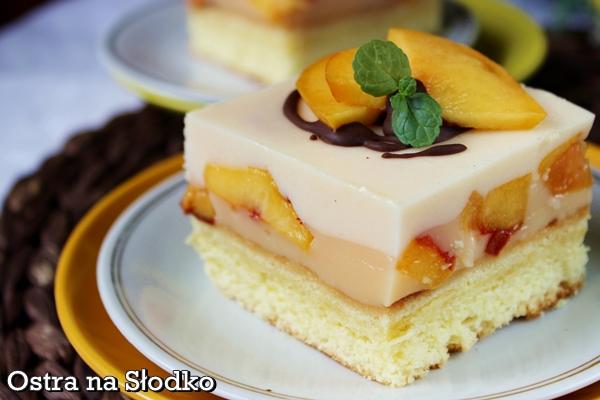 ciasto brzoskwiniowe , ciasto na kisielu , kisielowe , ciasto z owocami , pasie mleczko , ciasto pianka , pyszne ciasta , ostra na slodko (7)xx