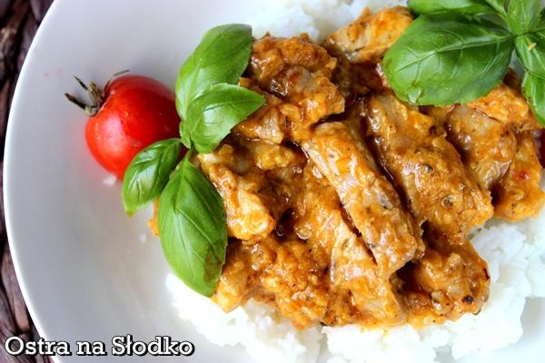 kurczak korma , kuchnia indyjska , korma , kurczak w sosie , kurczak po indyjsku , ostra na slodko , pyszy obiad , soczysty kurczak  (2) xxx