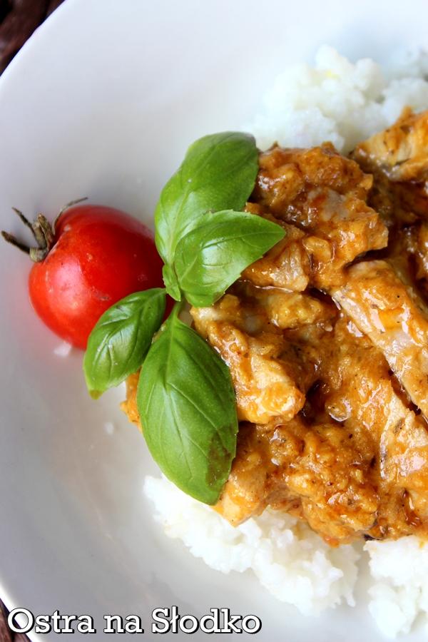 kurczak korma , kuchnia indyjska , korma , kurczak w sosie , kurczak po indyjsku , ostra na slodko , pyszy obiad , soczysty kurczak  xxx