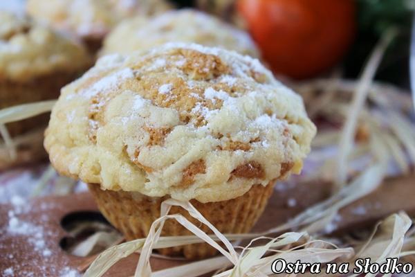 muffinki kaki , persymona , muffinki z kruszonka , latwe muffinki , cupcakes , pyszny muffiny , ostra na slodko , owoc persymony , blog kulinarny latwe przepisy 4xx