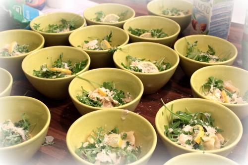 alpro soya , sante , warsztaty alpro , ostra na slodko , robert harna , smart stusio , super warsztaty , losos w mleku kokosowy , sernik tofu , tofurnik , panna cotta, ravioli , pierozki z krewetkami (17)