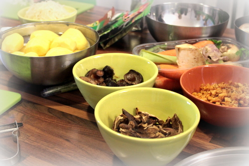 alpro soya , sante , warsztaty alpro , ostra na slodko , robert harna , smart stusio , super warsztaty , losos w mleku kokosowy , sernik tofu , tofurnik , panna cotta, ravioli , pierozki z krewetkami (8)