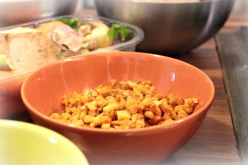 alpro soya , sante , warsztaty alpro , ostra na slodko , robert harna , smart stusio , super warsztaty , losos w mleku kokosowy , sernik tofu , tofurnik , panna cotta, ravioli , pierozki z krewetkami (9)