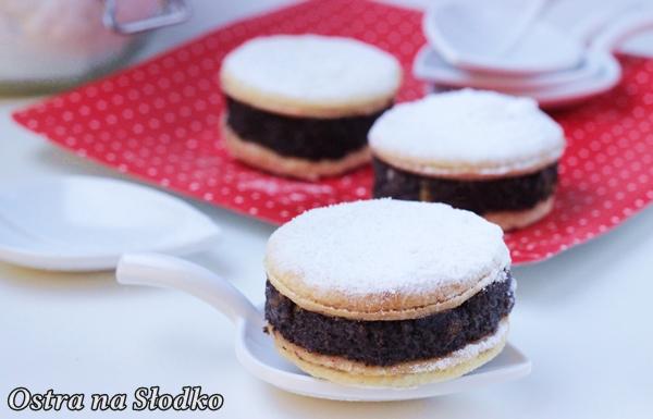 ciasteczka makowe , makowe ciastka , ciastka z makiem , kruche ciastka , masa makowa , domowa masa makowa , pyszne ciasteczka , ostra na slodko , blog kulinarny (6)xx