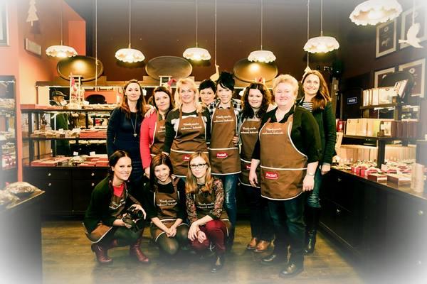 krakowska manufaktura czekolady , paclan , czekoladowe warsztaty , warsztaty ostra na slodko , pralinki , jak zrobic praliny , jak sie robi czekolade (5)