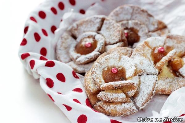 roze karnawalowe , roze z marmolada , tlusty czwartek , faworki , chrust , karnawalowe przekaski , ostra na slodko , blog kulinarny , latwe przepisy (3)X