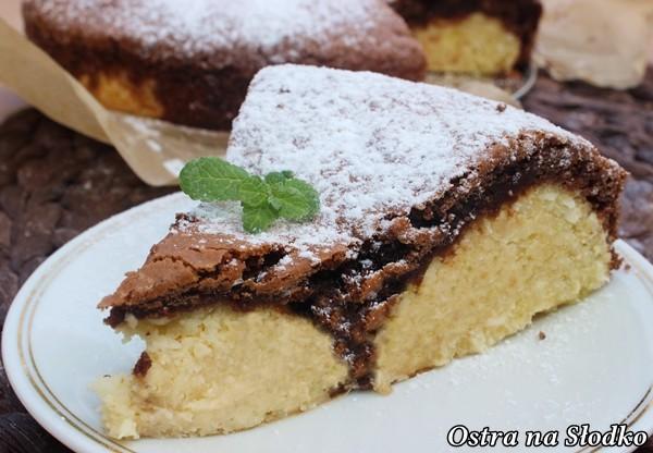 sernik czekoladowy , ciasto z kokosowymi kulkami , kulki kokosowe , sernik kokosowy , ciasto kokosowe , ciasto z serem , czekoladowe ciasto , latwe ciasta , ostra na slodko (4)
