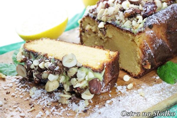 ciasto jogurtowe , ciasto bezglutenowe , kukurydziane ,ciasto orzechowe , z orzechami , z bakaliami , babka orzechowa , ostra na slodko , blog kulinarny (5)xxx