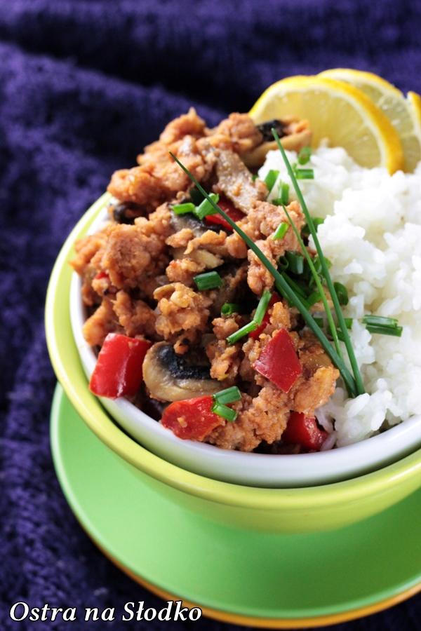 wieprzowina w 5 smakach , wieprzowina po tajsku , kuchnia chinska , tajska , wieprzowina na ostro , mieso  z ryzem , ostra na slodko , blog kulinarny  (4)xxx