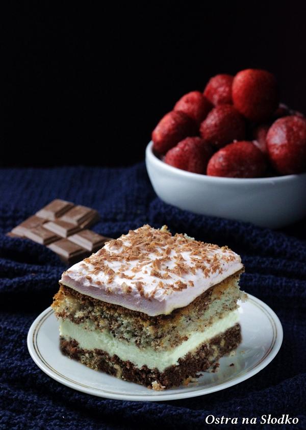 ciasto przekladane , truskawkowa pianka , ciasto truskawkowe , ciasto makowe , ciasto z truskawkowa pianka , ciasto  cytrynowe , ostra na slodko , biszkopt z kremem , latwe ciasta xx