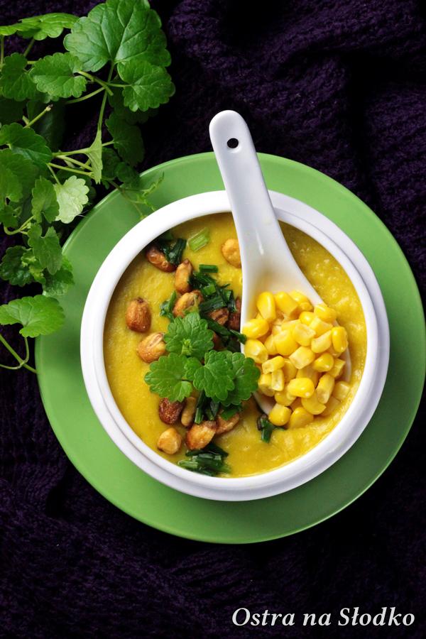 krem z kukurydzy , zupa kukurydziana , krem kukurydziany, ostra na slodko , zupowar , russell hobbs, pyszny krem z kukurydzy (2)x