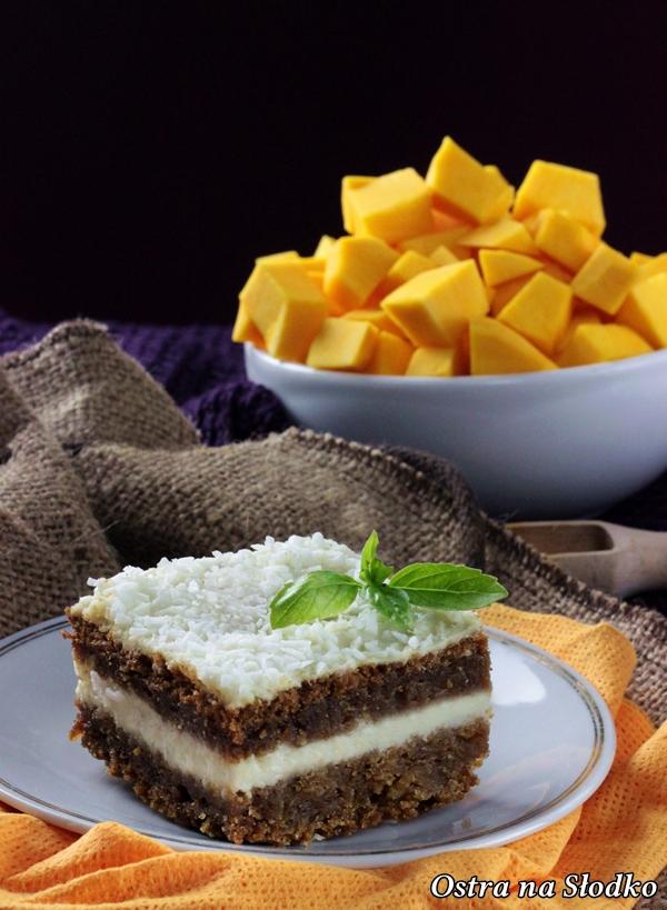 ciasto dyniowe , dyniowe z kremem , najlepsze dyniowe , ciasta na jesien , ciasto ucierane z kremem , ostra na slodko, blog kulinarny , sylwia ladyga (2)x