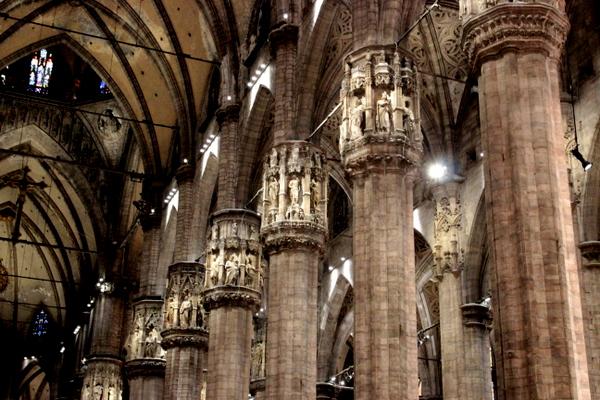 duomo di milano , cathedral duomo , italy , katedra w mediolanie , mediolan, wlochy , ostra na slodko , sylwia ladyga (5)