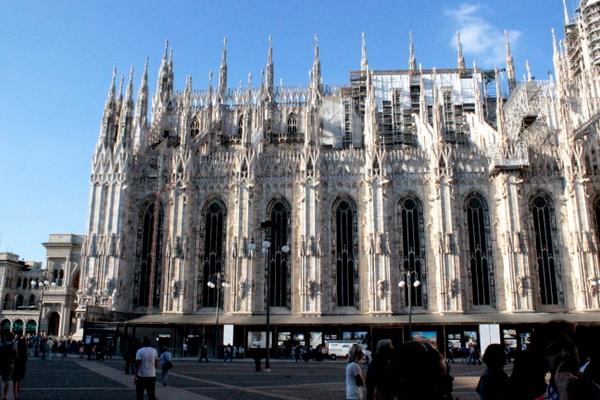 mediolan , katedra w mediolanie , duomo di milano , duomo cathedral , ostra na slodko , italy , wlochy, sylwia ladyga (1)