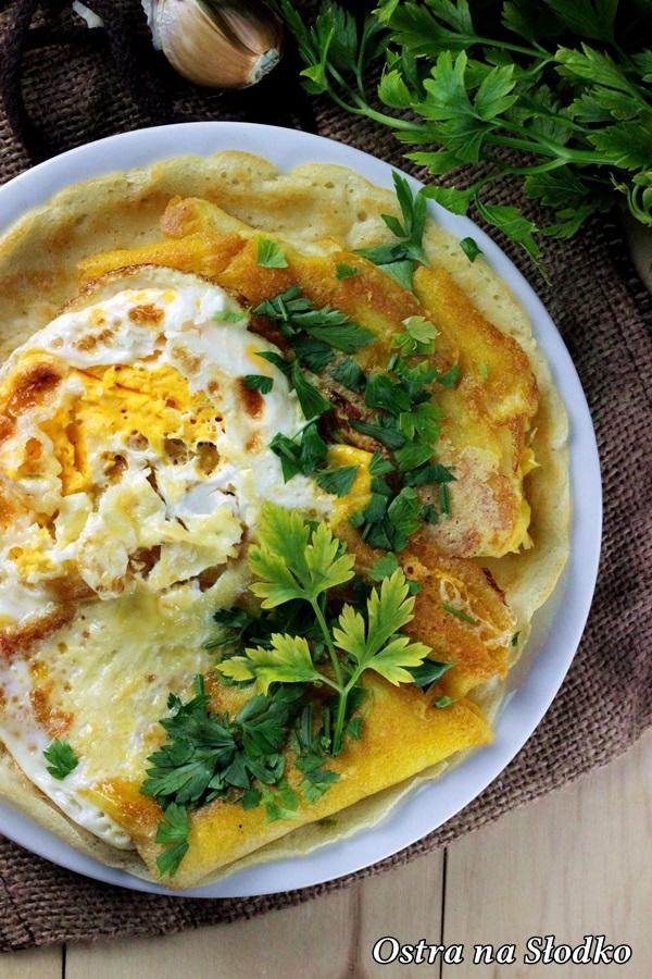 nalesniki z serem , wytrawne nalesniki , zapiekane nalesniki , omlet , ostra na slodko (1)x