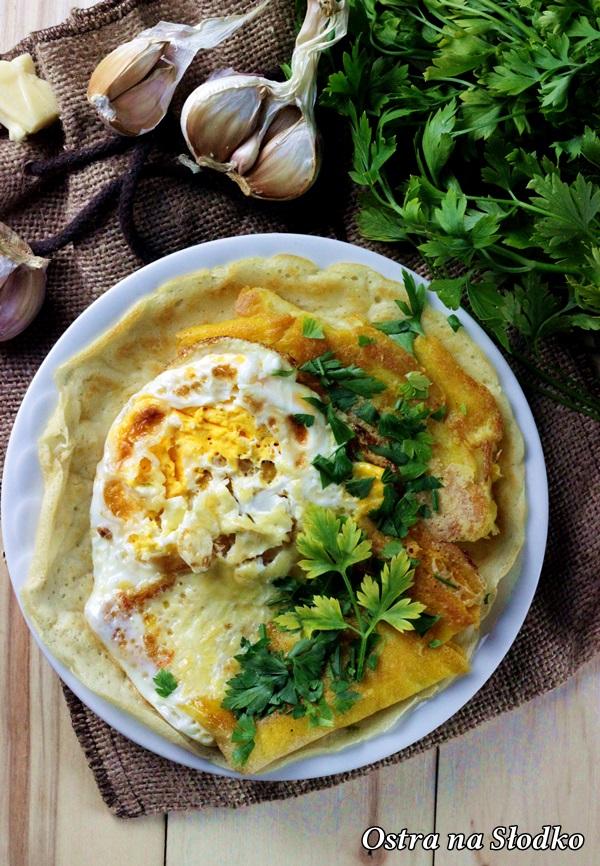 nalesniki z serem , wytrawne nalesniki , zapiekane nalesniki , omlet , ostra na slodko (2)x
