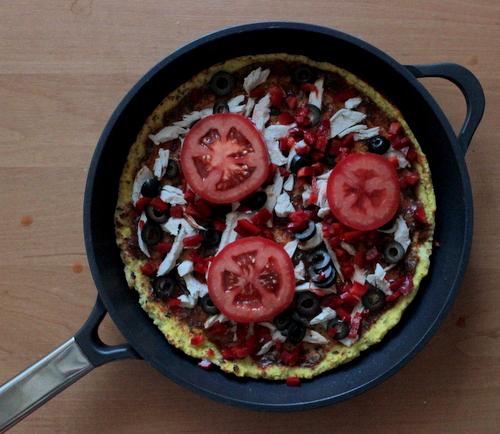 ambition patelnia , patelnia taurus , patelnia beztluszczona , pizza maka kokosowa , pizza fit , dietetyczne przepis , low carb , ostra na slodko (1)
