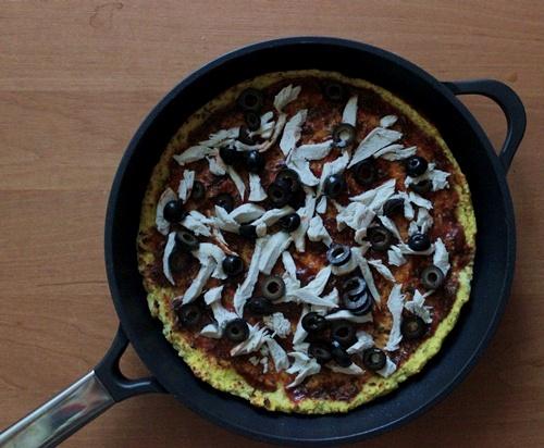 ambition patelnia , patelnia taurus , patelnia beztluszczona , pizza maka kokosowa , pizza fit , dietetyczne przepis , low carb , ostra na slodko (12)