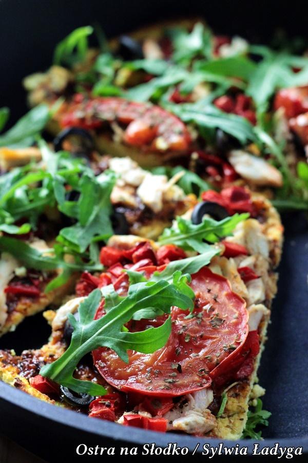 ambition patelnia , patelnia taurus , patelnia beztluszczona , pizza maka kokosowa , pizza fit , dietetyczne przepis , low carb , ostra na slodko (19)x