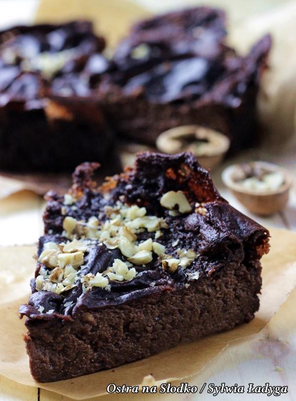 brownie jaglane , brownie z kaszy jaglane , ciasto z kaszy jaglanej , brownie fit dietetyczne , dietetyczne ciasta , ostra na slodko (4)xxxxxx