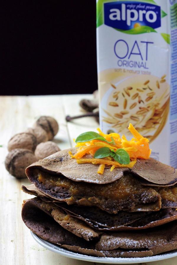 nalesniki kakaowe , nalesniki z maki kokosowej , maka kokosowa , nalesniki dymiowe . dietetyczne przepisy, fit (1)