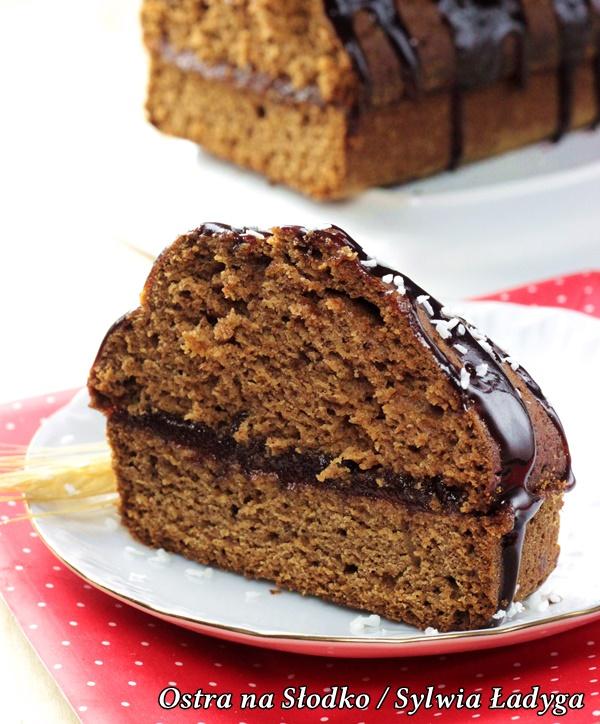 piernik dietetyczny, piernik fit , fit ciasta , piernik pelnoziarnisty, swiateczne ciasta dietetyczne , ostra na slodko (2)xxxx