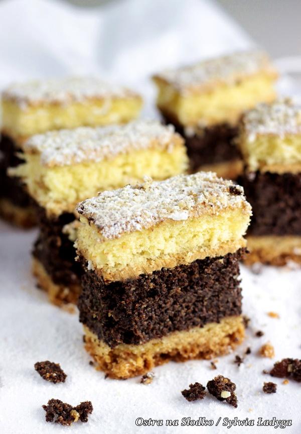 makowiec na biszkopcie , najlepszy makowiec , ciasto z makiem , biszkopt z makiem , ciasta na swieta , swiateczne wypieki , ostra na slodko , sylwia ladyga, blog kulinarny