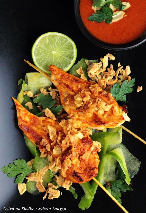 kurczak po tajsku , satay , patelnia indukcyjna najlepsza , garnki indukcja , ostra na slodko (12)xx