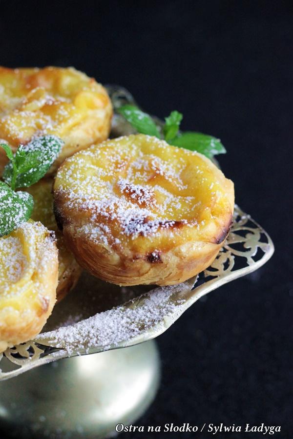 pasteis de nata , pasteis de belem , portugalskie ciasteczka, ciasteczka z lizbony , ostra na slodko , ciasto francuskie (3)x