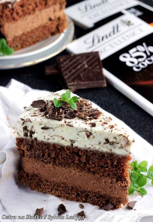 ciasto czekoladowe , mus czekoladowy , ciasto straciatella , tort czekoladowy , tort z musem , ostra na slodko , lindt , sylwia ladyga (1)xxx