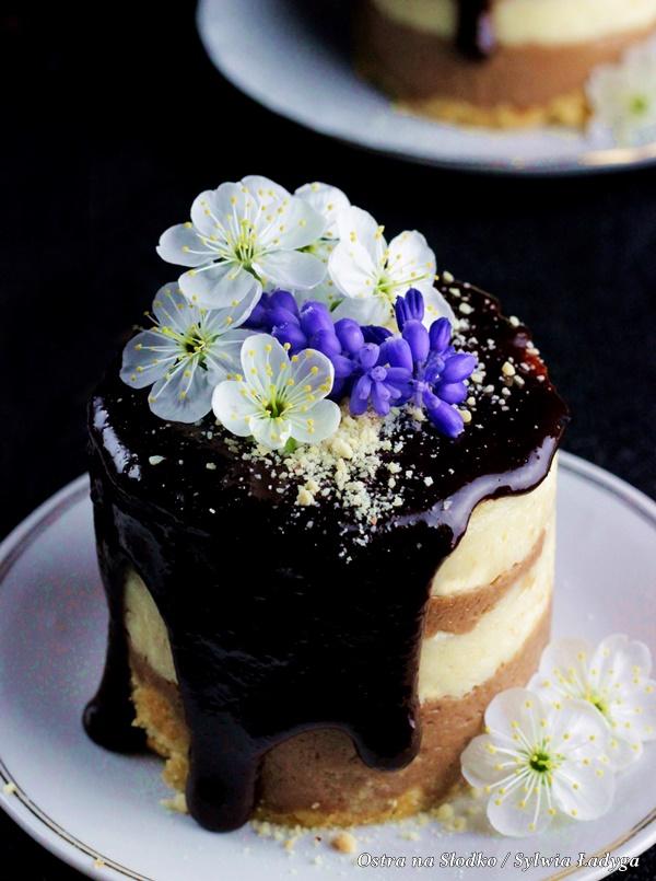 ciasto z kaszy manny , deser z kaszy , kasza manna na slodko , deser czekoladowy , deser waniliowy , ostra na slodko , sylwia ladyga (3)x