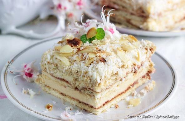 pani walewska , pychotka , ciasto bez pieczenia , ciasto na herbatnikach , ciasta z kremem budyniowym , ostra na slodko (2)x