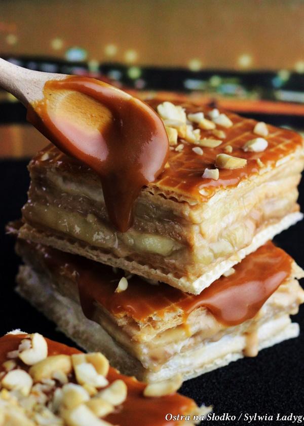 banoffee , snickers , ciasto karmelowe , ostra na slodko , solony karmel , sylwia ladyga , blog kulinarny , ciasto z karmelem i bananami (3)x