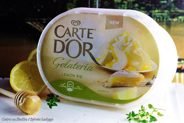 Carte d'or , lemon pie , ptysie z lodami , tarta cytrynowa , ptysie z beza , beza wloska , lody cytrynowe , deser z beza , ostra na slodko , sylwia ladyga (2)x