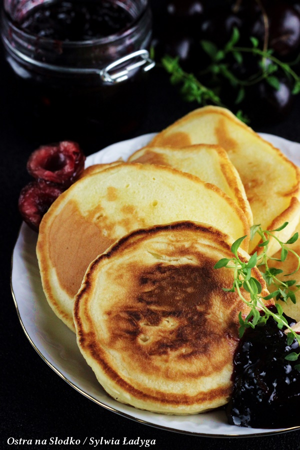 drop scones , puszyste pancakes , kuchnia szkocka , racuszki , pankreki , ostra na slodko , sylwia ladyga (3)x