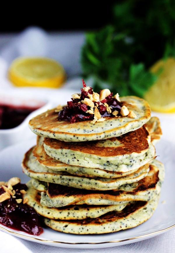 makowe placuszki , placuszki cytrynowe , pancakes z makiem , ostra na slodko (2)x