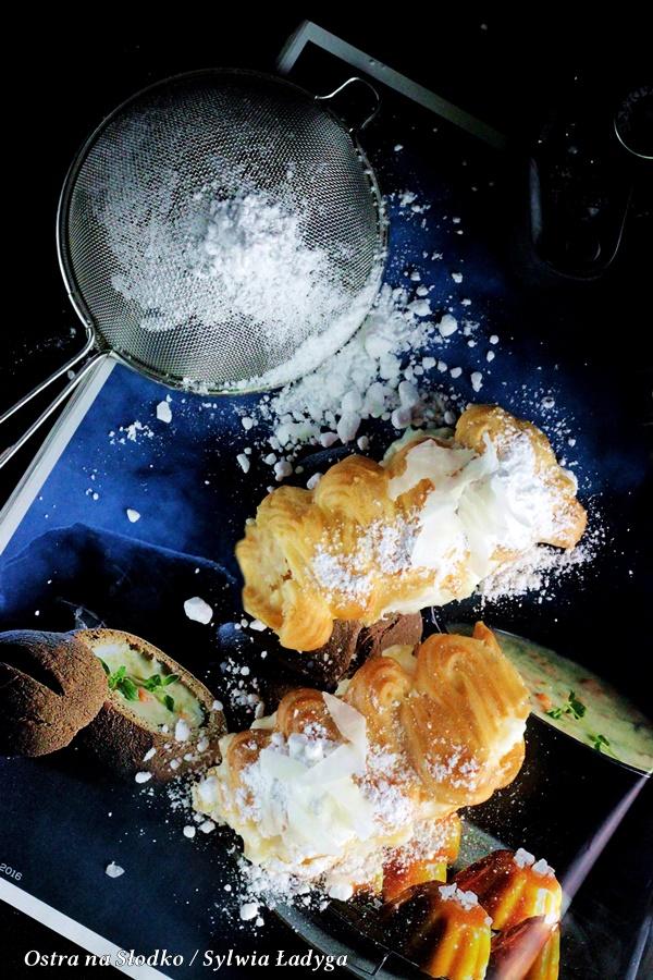 eklerki , krem kokosowy , krem rafaello , ciasto ptysiowe , eklerki z kremem , ostra na slodko , sylwia ladyga , blog (2)x