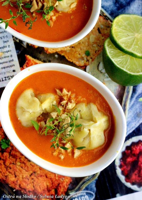 pierozki momo , indyjskie curry , czerwone curry , apetina , curry z pierozkami , kuchnia indyjska , ostra na slodko, sylwia ladyga (4)x